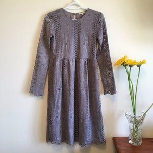 Tea n Rose Lace Dress